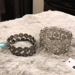 Stretch fit bracelets